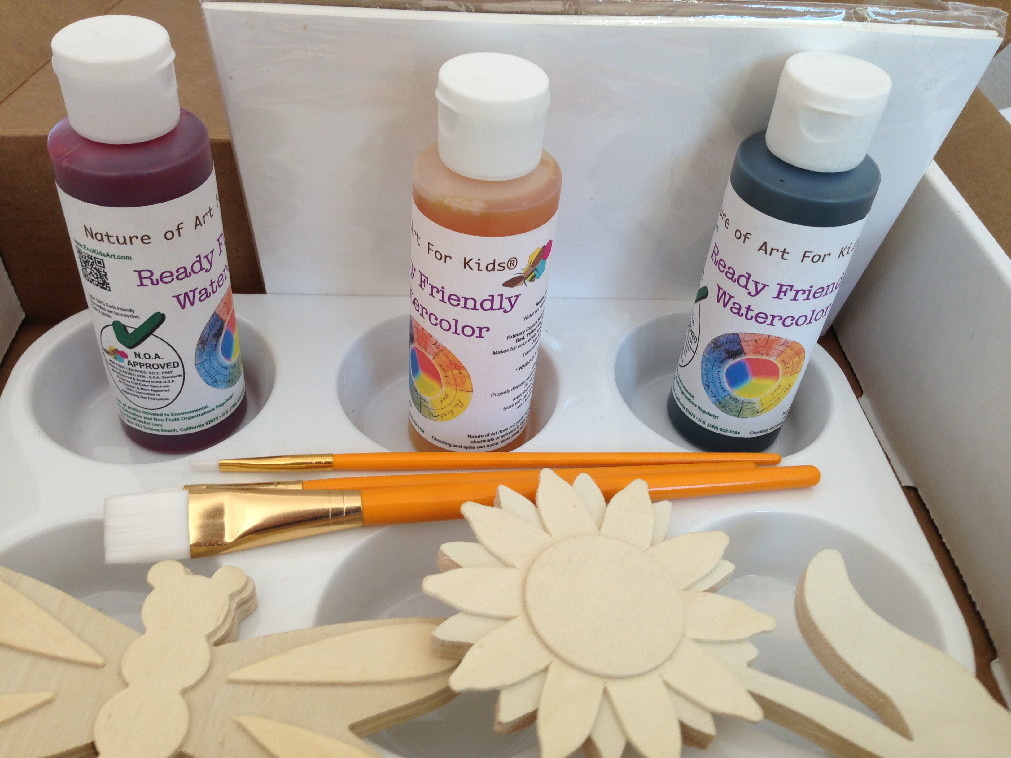 Buy Kids Paint Non-toxic, Eco-friendly Paints Safer children's Finger Paint