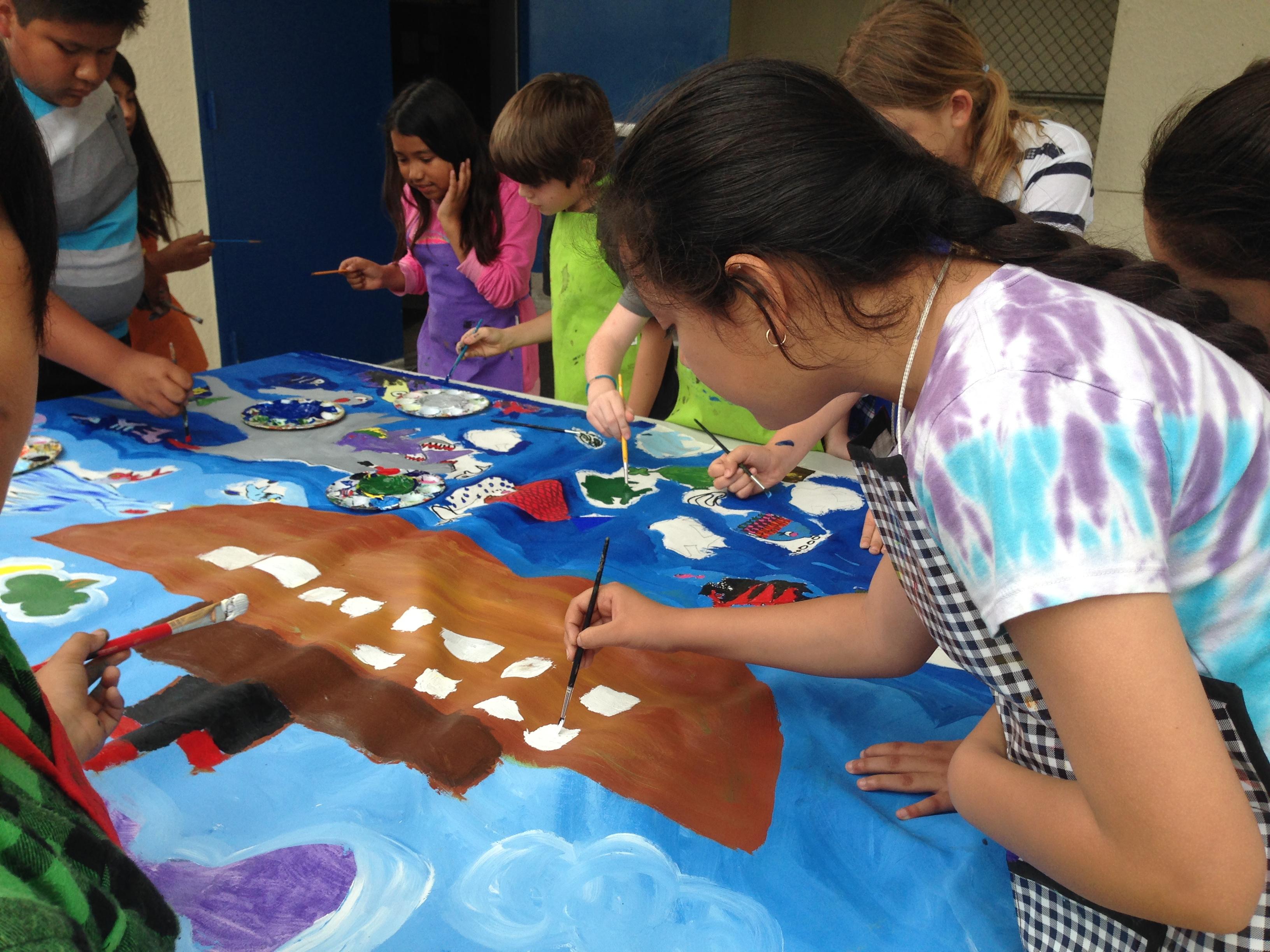 Buy Kids Paint Non-toxic canvas acrylic Paints Safer children's Finger Paint