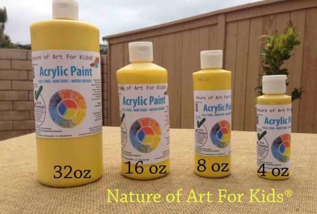 acrylicallsizes